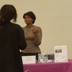 nw business and employment opportunity fair thea gaither from women venture 22117